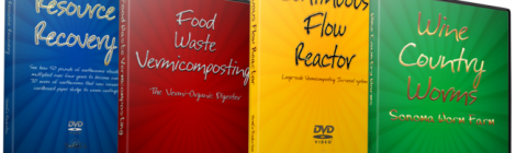 4 Vermicomposting DVDs